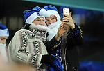 Everton fans taking a selfie<br /> - Barclays Premier League - Everton vs Leicester City - Goodison Park - Liverpool - England - 19th December 2015 - Pic Robin Parker/Sportimage