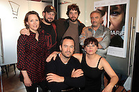 FILE PHOTO - Isabelle blais and the cast of Antoine et Marie<br />  movie