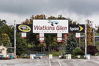Watkins Glen International Race Track entry gate, Watkins Glen, New York, USA