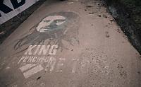 World Champion Peter Sagan (SVK/Bora-Hansgrohe) painted up the Paterberg<br /> <br /> 102nd Ronde van Vlaanderen 2018 (1.UWT)<br /> Antwerpen - Oudenaarde (BEL): 265km