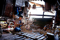 Men and women together make some of the finest baskets to be found anywhere in Thailand. Lahu men produce excellent crossbows, musical instruments, and other items made of wood, bamboo and rattan.