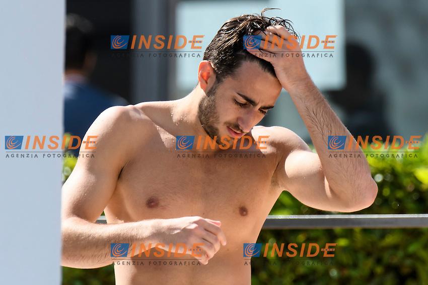 Giovanni TOCCI ITA <br /> Springboard 3m Men <br /> Roma 20-06-2016 Stadio del Nuoto Foro Italico Tuffi Campionati Italiani <br /> Foto Andrea Staccioli Insidefoto