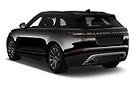 Car pictures of rear three quarter view of a 2018 Land Rover Range Rover Velar R-Dynamic SE 4WD 5 Door SUV angular rear