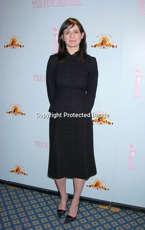 Emily Mortimer ..at the Pink Panther start of Production Press Conference on May 7, 2004 at the Waldorf Astoria Hotel.                    Photo by Robin Platzer, Twin Images