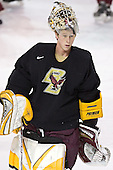 Joe Pearce - Boston College's morning skate on Friday, December 30, 2005 at Magness Arena in Denver, Colorado.  Boston College defeated Ferris State that afternoon in a shootout and defeated Princeton the following night to win the Denver Cup.