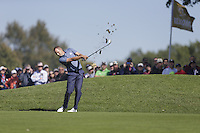 Sergio Garcia (Team Europe) on the 3rd fairway during the Friday afternoon Fourball at the Ryder Cup, Hazeltine national Golf Club, Chaska, Minnesota, USA.  30/09/2016<br /> Picture: Golffile | Fran Caffrey<br /> <br /> <br /> All photo usage must carry mandatory copyright credit (&copy; Golffile | Fran Caffrey)