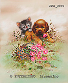GIORDANO, CHRISTMAS ANIMALS, WEIHNACHTEN TIERE, NAVIDAD ANIMALES, paintings+++++,USGI2070,#XA#