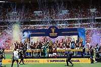 Brasília (DF), 16/02/2020 - Partida entre Flamengo e Athletico Paranaense pela Supercopa no estádio Mané Garrincha em Brasília, neste domingo (16)