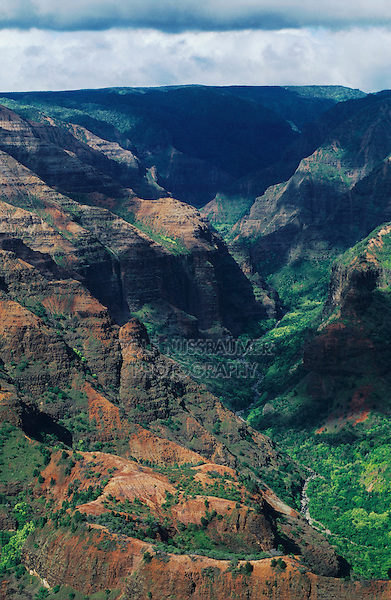 Waimea Canyon, Kauai, Hawaii, USA, August 1996