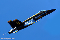 Blue Angel over Seattle