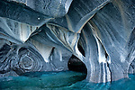 Marble Caves, Lago General Carrera, Chilean Aisen Region, Chile, South America