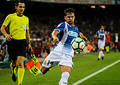 9th September 2017, Camp Nou, Barcelona, Spain; La Liga football, Barcelona versus Espanyol; Piatti crosses the ball