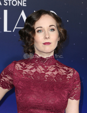 "Westwood, CA - DECEMBER 06: Anna Chazelle, At Premiere Of Lionsgate's ""La La Land"" At Mann Village Theatre, California on December 06, 2016. Credit: Faye Sadou/MediaPunch"