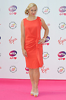 NON EXCLUSIVE PICTURE: PAUL TREADWAY / MATRIXPICTURES.CO.UK<br /> PLEASE CREDIT ALL USES<br /> <br /> WORLD RIGHTS<br /> <br /> German tennis player Sabine Lisicki attending the WTA Pre Wimbledon Party, at London's Kensington Roof Gardens.<br /> <br /> 20TH JUNE 2013<br /> <br /> REF: PTY 134225