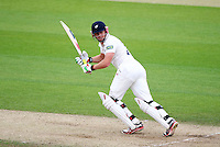 PICTURE BY VAUGHN RIDLEY/SWPIX.COM - Cricket - County Championship, Div 2 - Yorkshire v Northamptonshire, Day 3  - Headingley, Leeds, England - 01/06/12 - Yorkshire's Jonny Bairstow hits out.