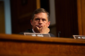 United States Senator Martin Heinrich (Democrat of New Mexico) listens to Air Force General John Hyten, who is nominated to become Vice Chairman Of The Joint Chiefs Of Staff, as he testifies before the U.S. Senate Committee on Armed Services during his confirmation hearing on Capitol Hill in Washington D.C., U.S. on July 30, 2019. <br /> <br /> Credit: Stefani Reynolds / CNP