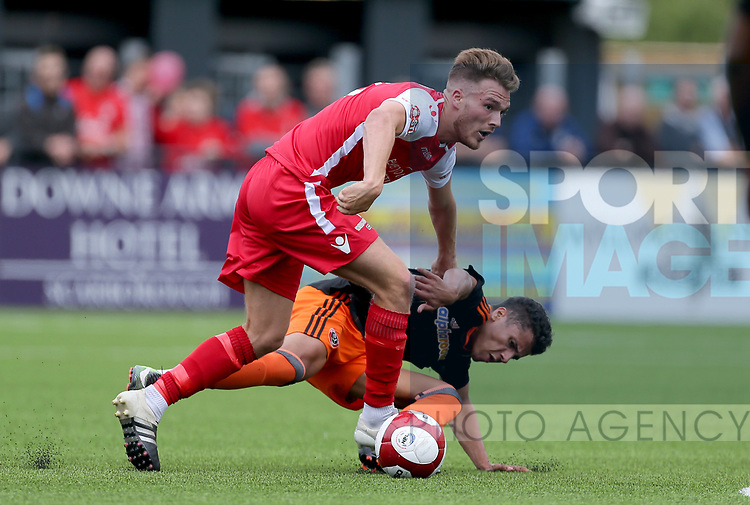 Tyler Smith of Sheffield Utd during the pre season match at the Flamingo Land Stadium, Scarborough. Picture date 15th July 2017. Picture credit should read: Richard Sellers/Sportimage