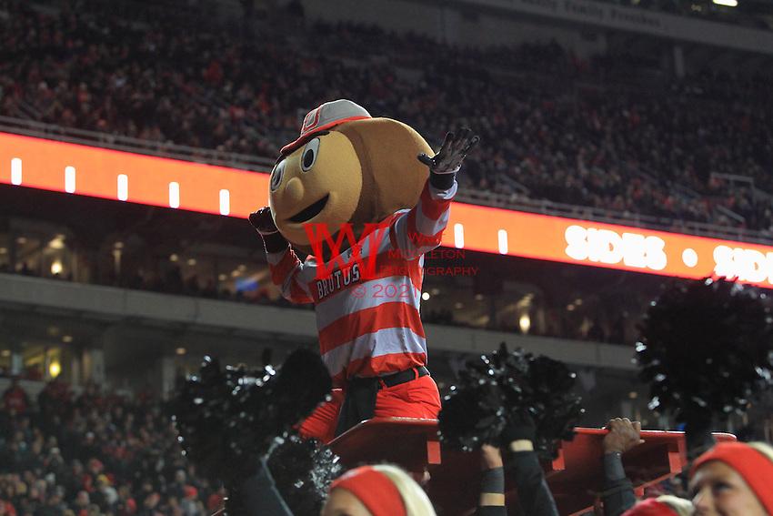 The Ohio State University football team defeat Penn State University 38-10. The Ohio Stadium, Columbus, OH. October 17, 2015