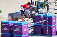 USEF-Chloe Reid rides Souper Shuttle during the La Vanguardia Trophy. 2019 CSIO Barcelona - Longines FEI Nations Cup Jumping Final. Reial Club de Polo de Barcelona. Spain. Friday 4 October. Copyright Photo: Libby Law Photography