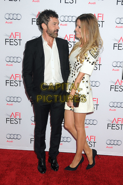9 November 2015 - Los Angeles, California - Antonio Banderas, Nicole Kimpel. AFI FEST 2015 - &quot;The 33&quot; Premiere held at the TCL Chinese Theatre. <br /> CAP/ADM/BP<br /> &copy;BP/ADM/Capital Pictures