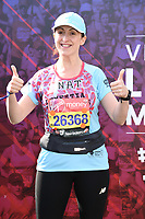 Natalie Cassidy<br /> at the start of the London Marathon 2019, Greenwich, London<br /> <br /> ©Ash Knotek  D3496  28/04/2019