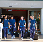 22.06.2019 Rangers arrive in Portugal: Daniel Candeias, Jordan Jones, Stevie Kelly and Jamie Murphy