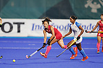 Shihori Oikawa (JPN), <br /> AUGUST 31, 2018 - Hockey : <br /> Women's Final match <br /> between Japan 2-1 India  <br /> at Gelora Bung Karno Hockey Field <br /> during the 2018 Jakarta Palembang Asian Games <br /> in Jakarta, Indonesia. <br /> (Photo by Naoki Morita/AFLO SPORT)