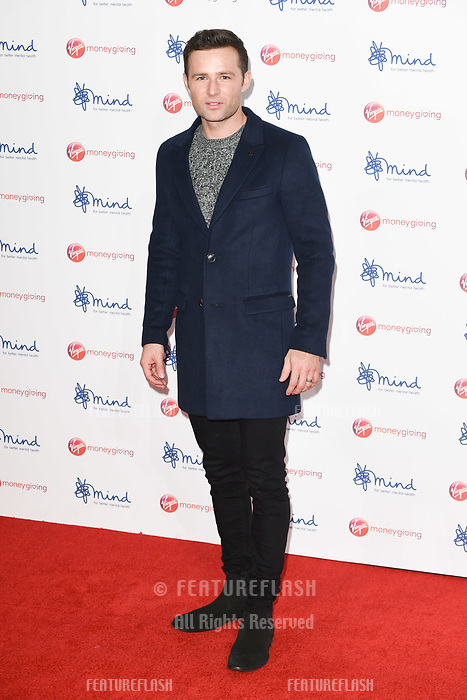 Harry Judd at the Virgin Money Giving Mind Media Awards at the Odeon Leicester Square, London, UK. <br /> 13 November  2017<br /> Picture: Steve Vas/Featureflash/SilverHub 0208 004 5359 sales@silverhubmedia.com