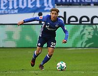 Amine Harit (FC Schalke 04) - 16.12.2017: Eintracht Frankfurt vs. FC Schalke 04, Commerzbank Arena, 17. Spieltag Bundesliga