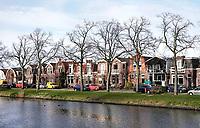 Nederland - Zaandam- 2019. Wonen aan de Zaan in Zaandam. Foto Berlinda van Dam / Hollandse Hoogte