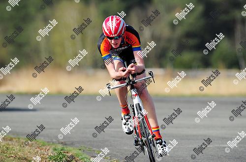 2015-04-16 / Wielrennen / seizoen 2015 / PK Tijdrijden Antwerpen / HILLEN MICHIEL<br /><br />Foto: Mpics.be