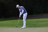 Steven Tiley (ENG) on the 4th green during Round 3 of the Challenge Tour Grand Final 2019 at Club de Golf Alcanada, Port d'Alcúdia, Mallorca, Spain on Saturday 9th November 2019.<br /> Picture:  Thos Caffrey / Golffile<br /> <br /> All photo usage must carry mandatory copyright credit (© Golffile | Thos Caffrey)