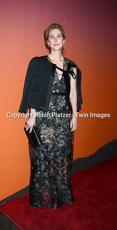 Fiona Rudin attends the 2013 Whitney Gala & Studio party honoring artist Ed Ruscha on October 23, 2013 at Skylight at Moynihan Station in New York City.