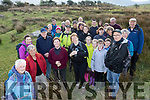 Easter Monday, the final day of the Claghane-Brandon Walking&Music Festival, Dáithí Ó Conáill, Lt, was the guide for the large group went on an archaeological tour of Loch an Dúin, where there is still the remains of anchient civilisation that dates back over 5000yrs ago.