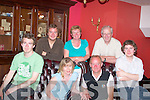 A great night at the Imperial Hotel, Tralee on Saturday night as family and friends of John Campbell Listellick, Tralee held a surprise 50th Birthday party for him. Front l-r: Alan,Rosemary,John(birthday boy) and Sean Campbell Back l-r:Christopher Campbell, Catherine and Jim McNamara...   Copyright Kerry's Eye 2008