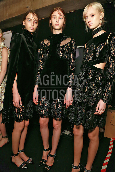 Erdem<br /> Womenswear Fall Winter 2014 London Fashion Week February 2014 Londres, Inglaterra &ndash; 02/2014 - Desfile de Erdem durante a Semana de moda de Londres - Inverno 2014. <br />