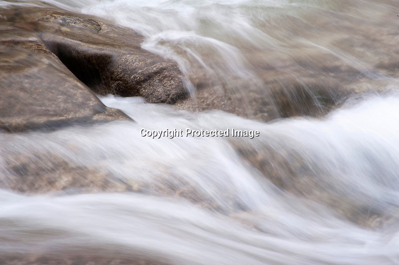 Flowing Water at Jelly Mill Falls
