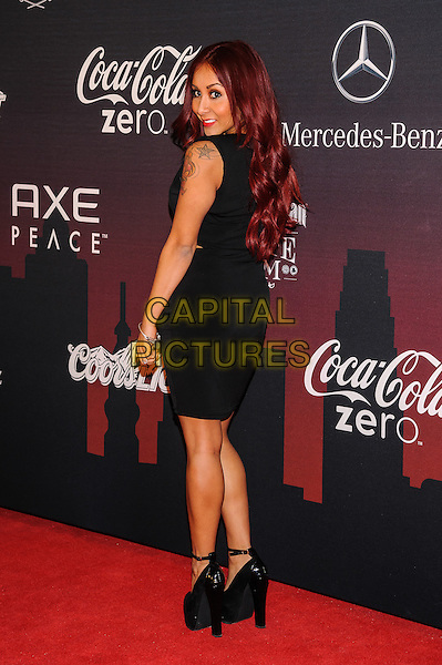 31 January 2014 - New York, New York- Nicole &quot;Snooki&quot; Polizzi. ESPN The Party.  <br /> CAP/ADM/MSA<br /> &copy;Mario Santoro/AdMedia/Capital Pictures