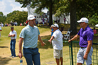 Justin Rose (GBR) makes his way to the tee on 10 during round 4 of the WGC FedEx St. Jude Invitational, TPC Southwind, Memphis, Tennessee, USA. 7/28/2019.<br /> Picture Ken Murray / Golffile.ie<br /> <br /> All photo usage must carry mandatory copyright credit (© Golffile | Ken Murray)