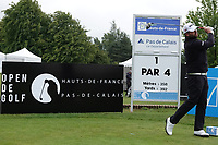Jack Senior (ENG) in action during the first round of the Hauts de France-Pas de Calais Golf Open played at Aa Saint-Omer GC, Saint - Omer, France. 13/06/2019<br /> Picture: Golffile | Phil Inglis<br /> <br /> <br /> All photo usage must carry mandatory copyright credit (© Golffile | Phil Inglis)