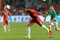 Bridgeview, IL, USA - Tuesday, October 11, 2016: Panama defender Michael Amir Murillo (13) during an international friendly soccer match between Mexico and Panama at Toyota Park. Mexico won 1-0.