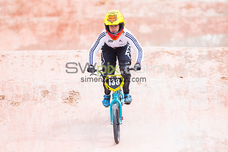 Picture by Alex Whitehead/SWpix.com - 28/05/2016 - Cycling - 2016 UCI BMX World Championships - Mariana Pajon BMX Track, Medellin, Colombia - Great Britain's Bethany Shriever competes in the Women's Junior Time Trial qualification.