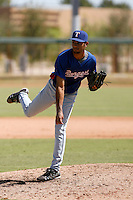 Denny Peralta - Texas Rangers 2009 Instructional League. .Photo by:  Bill Mitchell/Four Seam Images..