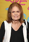 Gloria Steinem attends the Opening Night Performance of ''Head Over Heels' at the Hudson Theatre on July 26, 2018 in New York City.