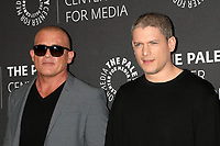 BEVERLY HILLS, CA - MARCH 29: Dominic Purcel, Wentworth Miller at 2017 PaleyLive LA Spring Season presents Prison Break at The Paley Center For Media in Beverly Hills, California on March 29, 2017. Credit: David Edwards/MediaPunch