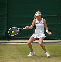 Agnieszka Radwanska<br /> <br /> Tennis - The Championships Wimbledon  - Grand Slam -  All England Lawn Tennis Club  2013 -  Wimbledon - London - United Kingdom -Saturday  29th June  2013. <br /> &copy; AMN Images, 8 Cedar Court, Somerset Road, London, SW19 5HU<br /> Tel - +44 7843383012<br /> mfrey@advantagemedianet.com<br /> www.amnimages.photoshelter.com<br /> www.advantagemedianet.com<br /> www.tennishead.net