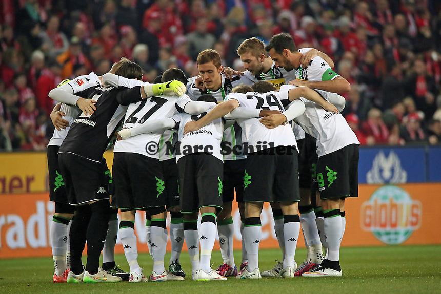 Borussia Moenchengladbach schwoert sich ein - 1. FSV Mainz 05 vs. Borussia Moenchengladbach, Coface Arena