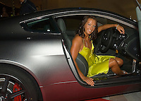 Layne Beachley (AUS) with seven World tiles stepped out of an extra slick Aston Martin vehicle and straight onto the red carpet to attend the 25th Annual Foster's ASP World Champion's Crowning at Conrad Jupiters Casino on the Gold Coast of Australia Saturday night, February 24 2007. Held just prior to the launch of the 2007 Foster's ASP and ASP Women's World Tours at Snapper Rocks, the World Champion's Crowning acknowledged a bevy of accomplishments by surfers of all disciplines.  Photo: Joli