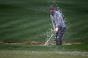 February 3rd 2019, Scottsdale, Arizona, USA;  Matt Kuchar hits out of the sand trap on the ninth hole at the final round of the Waste Management Phoenix Open on February 3, 2019, at TPC Scottsdale in Scottsdale, Arizona.
