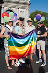 Gay pride demonstration 2012, equal marriage and equality without cuts